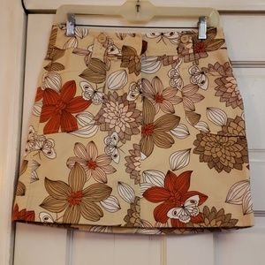 Ann Taylor LOFT Floral Pants Size 4